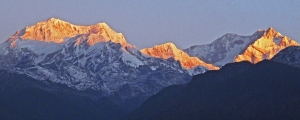 002-Dawn-light-on-Kabru-and-Kanchenjunga-Himalayas-Sikkim